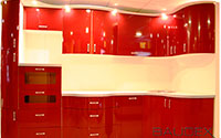 кухни пвх с радиусным фасадом